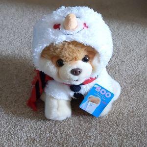 Boo Dog Snowman